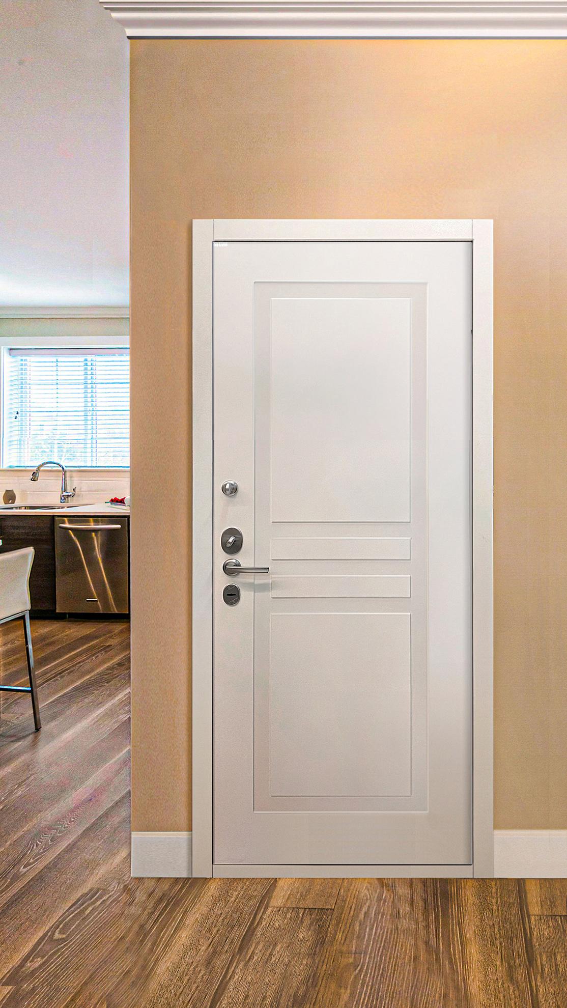 Стальные двери в интерьерах