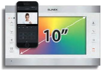 "Видеодомофон SLINEX SL-10 IP 10"""