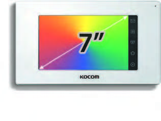"Видеодомофон KOCOM KCV-544 SD 7"""