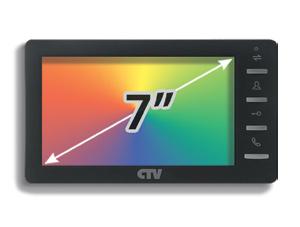 Комплект с установкой видеодомофона CTV- M 4700
