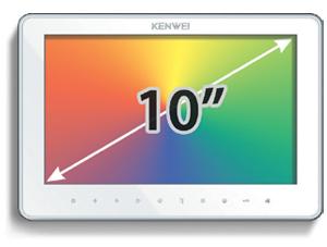 Комплект с установкой видеодомофона KENVEI KW-SA20 C-PH-W-HR