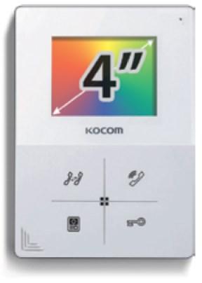 """Комплект с установкой видеодомофона KOKOM KCV-401 EV 4"""""""