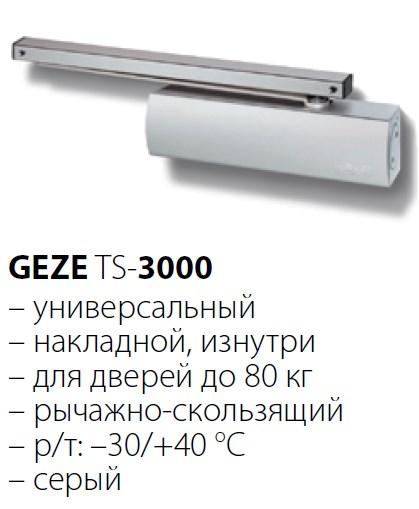 GEZE TS- 3000