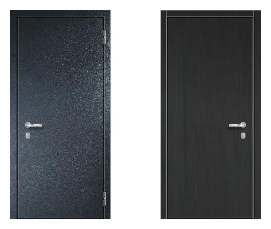 Стальная дверь ДПЗ 150Т ВЗ-я серия (только наружного открывания) под покраску снаружи (лист 2 мм) #1634569815
