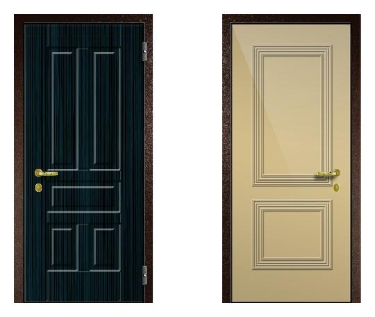 Стальная дверь ДПЗ 150Т ВЗ-я серия (только наружного открывания) под панели с 2-х сторон (лист 2 мм) #1634121138
