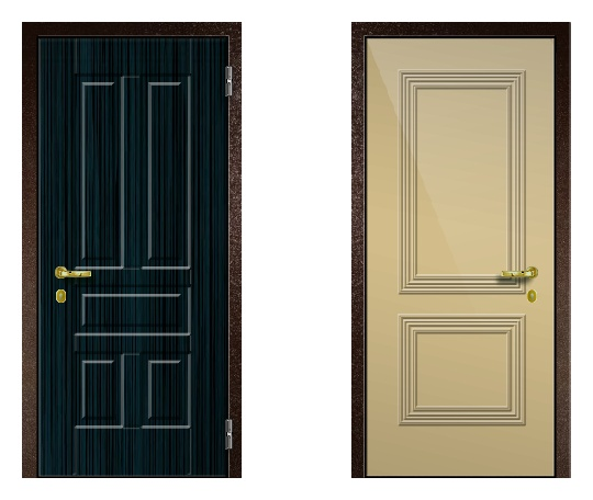 Стальная дверь ДПЗ 150Т ВЗ-я серия (только наружного открывания) под панели с 2-х сторон (лист 2 мм) #1634121036