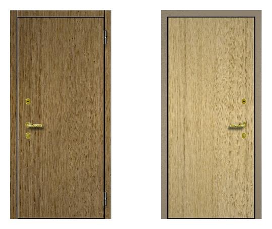 Стальная дверь ДПЗ 150Т ВЗ-я серия (только наружного открывания) под панели с 2-х сторон (лист 2 мм) #1630658971