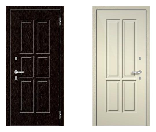 Стальная дверь ДПЗ K-90(наружного и внутреннего открывания) под панели с 2-х сторон (лист 2 мм) #1627129664