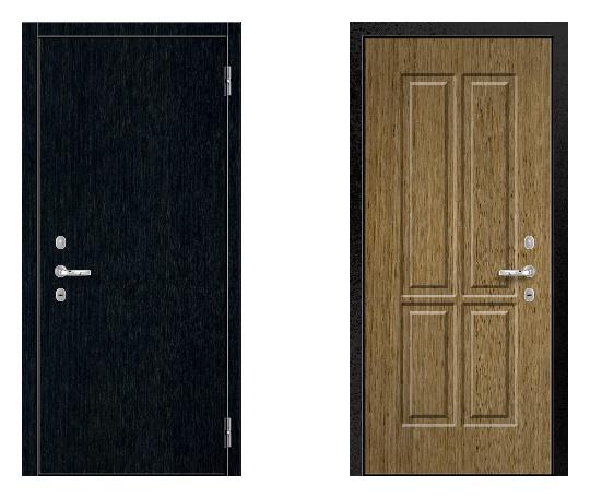 Стальная дверь ДПЗ 150Т ВЗ-я серия (только наружного открывания) под панели с 2-х сторон (лист 2 мм) #1631175774