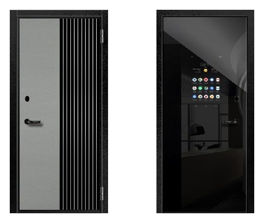 Стальная дверь ДПЗ 100-я серия (наружного и внутреннего открывания)* под панели с 2-х сторон (лист 2 мм) #1634639037