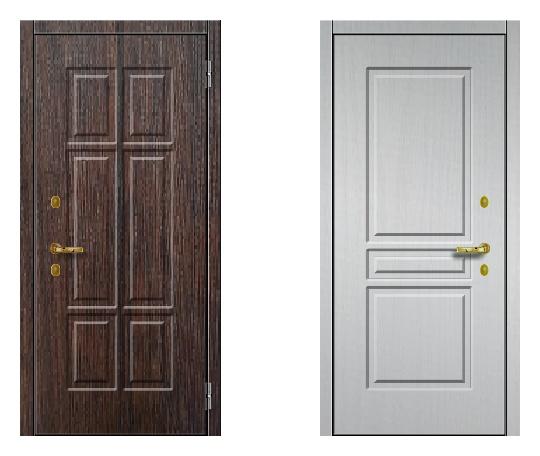 Стальная дверь ДПЗ 150Т ВЗ-я серия (только наружного открывания) под панели с 2-х сторон (лист 2 мм) #1631027662