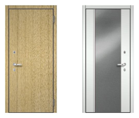Стальная дверь ДПЗ K-90(наружного и внутреннего открывания) под панели с 2-х сторон (лист 2 мм) #1634723905
