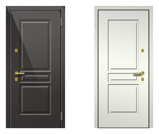 Стальная дверь ДПЗ 150Т ВЗ-я серия (только наружного открывания) под панели с 2-х сторон (лист 2 мм) #1628861615