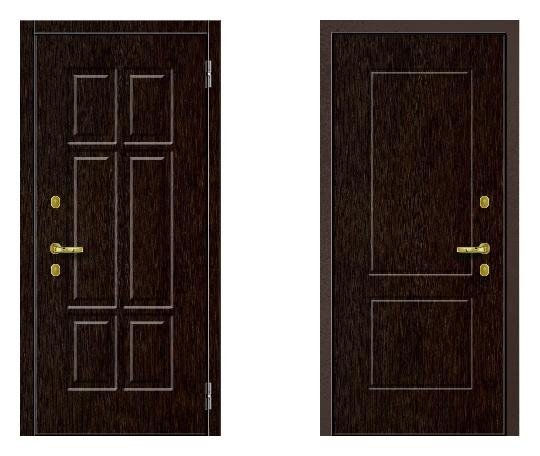 Стальная дверь ДПЗ K-90(наружного и внутреннего открывания) под покраску снаружи (лист 2 мм) #1627474196