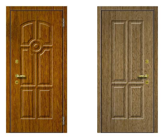 Стальная дверь ДПЗ 100-я серия (наружного и внутреннего открывания)* под панели с 2-х сторон (лист 2 мм) #1632834246
