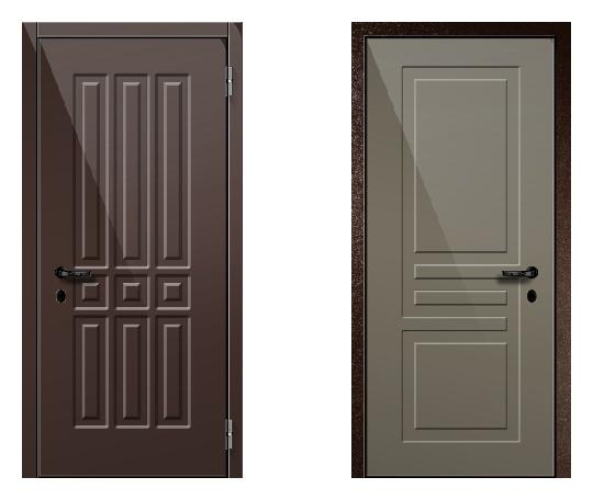 Стальная дверь ДПЗ 150Т ВЗ-я серия (только наружного открывания) под панели с 2-х сторон (лист 2 мм) #1630748640