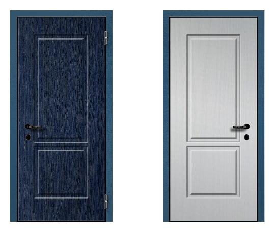 Стальная дверь ДПЗ 150Т ВЗ-я серия (только наружного открывания) под панели с 2-х сторон (лист 2 мм) #1627053281