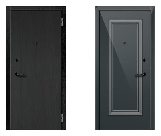 Стальная дверь ДПЗ 100-я серия (наружного и внутреннего открывания)* под панели с 2-х сторон (лист 2 мм) #1632571631